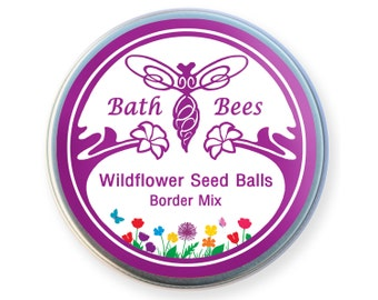 Wildflower Seed Balls - Border Mix
