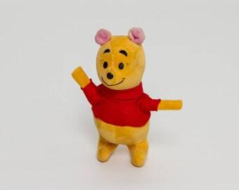 vintage 1960s Winnie the Pooh Bear | classic Disney | 60s stuffed animal toy