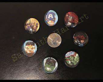 Avengers magnets #8