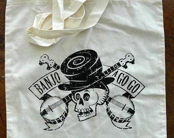 Banjo a Go Go Tote Bag