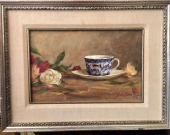 Original Still Life Oil Painting - Laura Robb