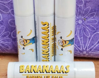 Bananaaas Minion Lip Balm