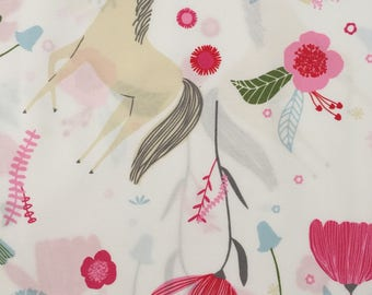 custom baby blanket ~ enchanted horse ~ chic couture ~ baby accessories ~ custom made baby blanket from lillybelle designs