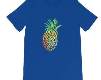 Holla Back Co. Royal Blue Pineapple T-Shirt