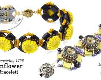 Sunflower Bracelet (Pattern)