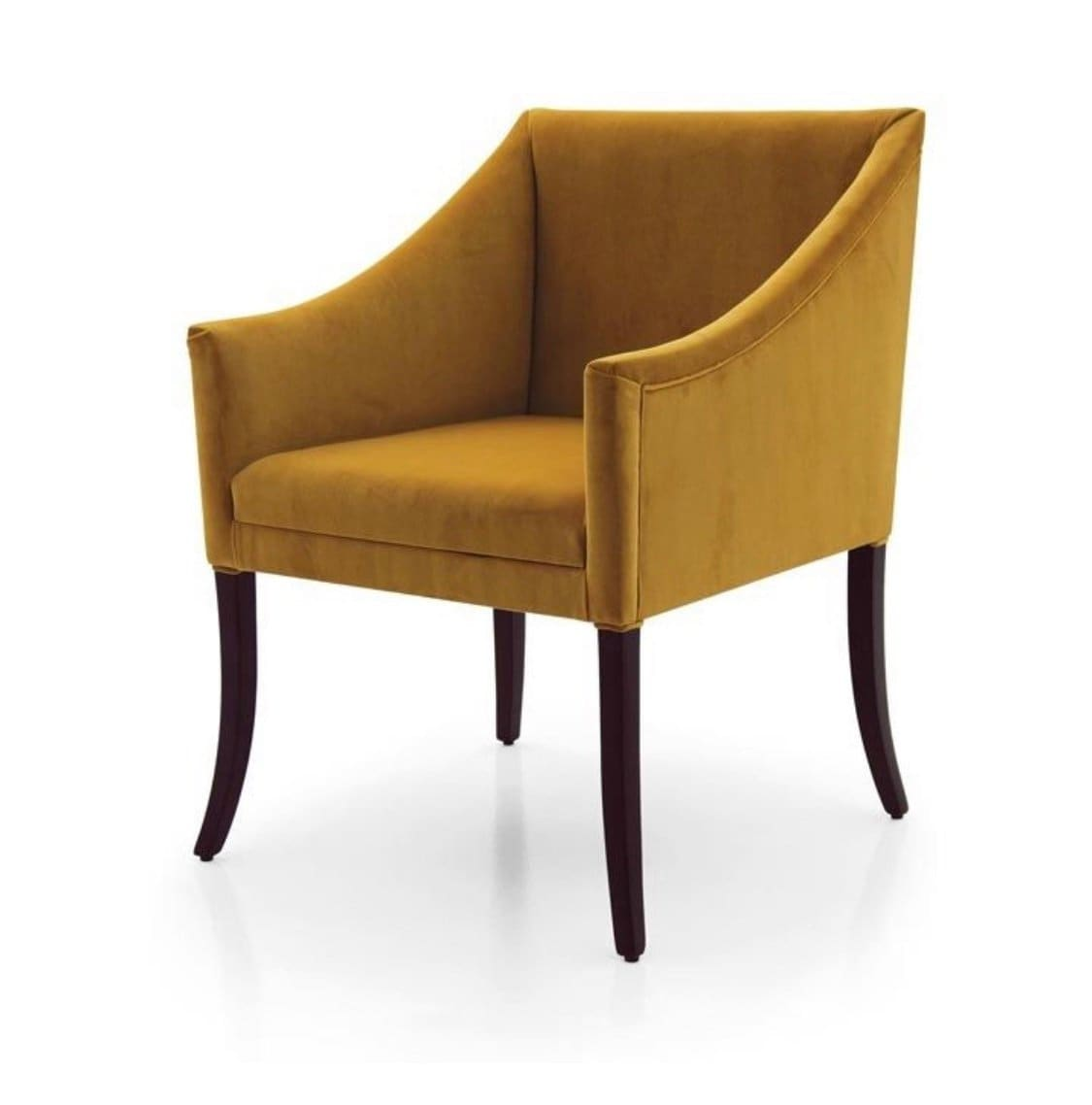 Contatore Tub Chair Armchair Bespoke Custom Finished Wood Upholstered To Order Handmade Seating By Millmax
