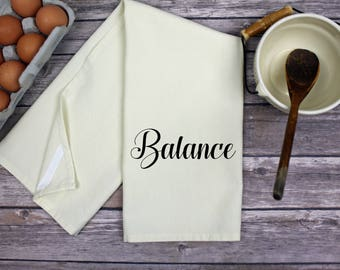 Kitchen Dish Towel - Tea Towel - Balance