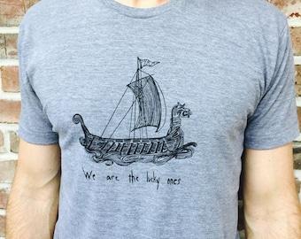 We are the Lucky Ones-Men's silkscreen t-shirt