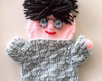 personalized hand Puppet teacher, teacher gift, original student gift