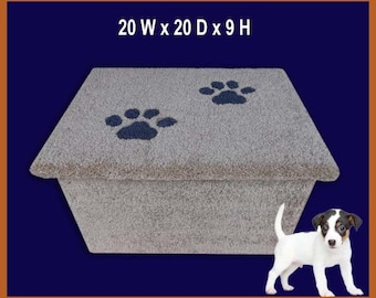 Dog steps, One step for cats or dogs. Doggy step. Pet furniture. Puppy steps. Dogs furniture.Pet Supplies