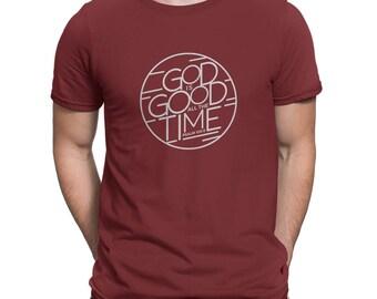 FACT goods Men's God is Good All the Time Short-Sleeve T-Shirt