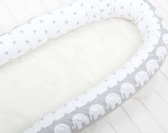 Snake pillow, Bed bumper pillow, toddler bed, single bed, protective bumper, cushion, bolster pillow, body pillow, cot bumpers, crib bumper