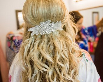 """Jaxie """"Tamara"""" Bridal Hairpiece"""