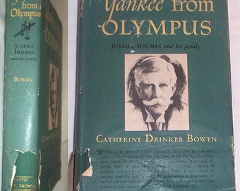 Vintage 1944 Book YANKEE from OLYMPUS - Justice Holmes and His Family - by Catherine Drinker Bowen - Hardcover