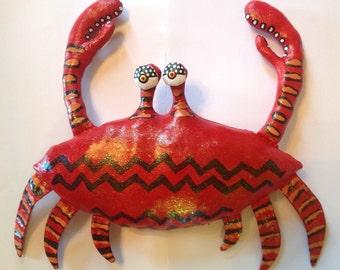 Big Soft-shell-sculpture Crab