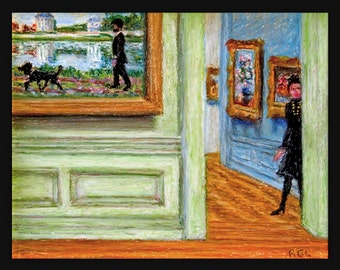 Metropolitan Museum, Impressionist Gallery by Ronnie Levine