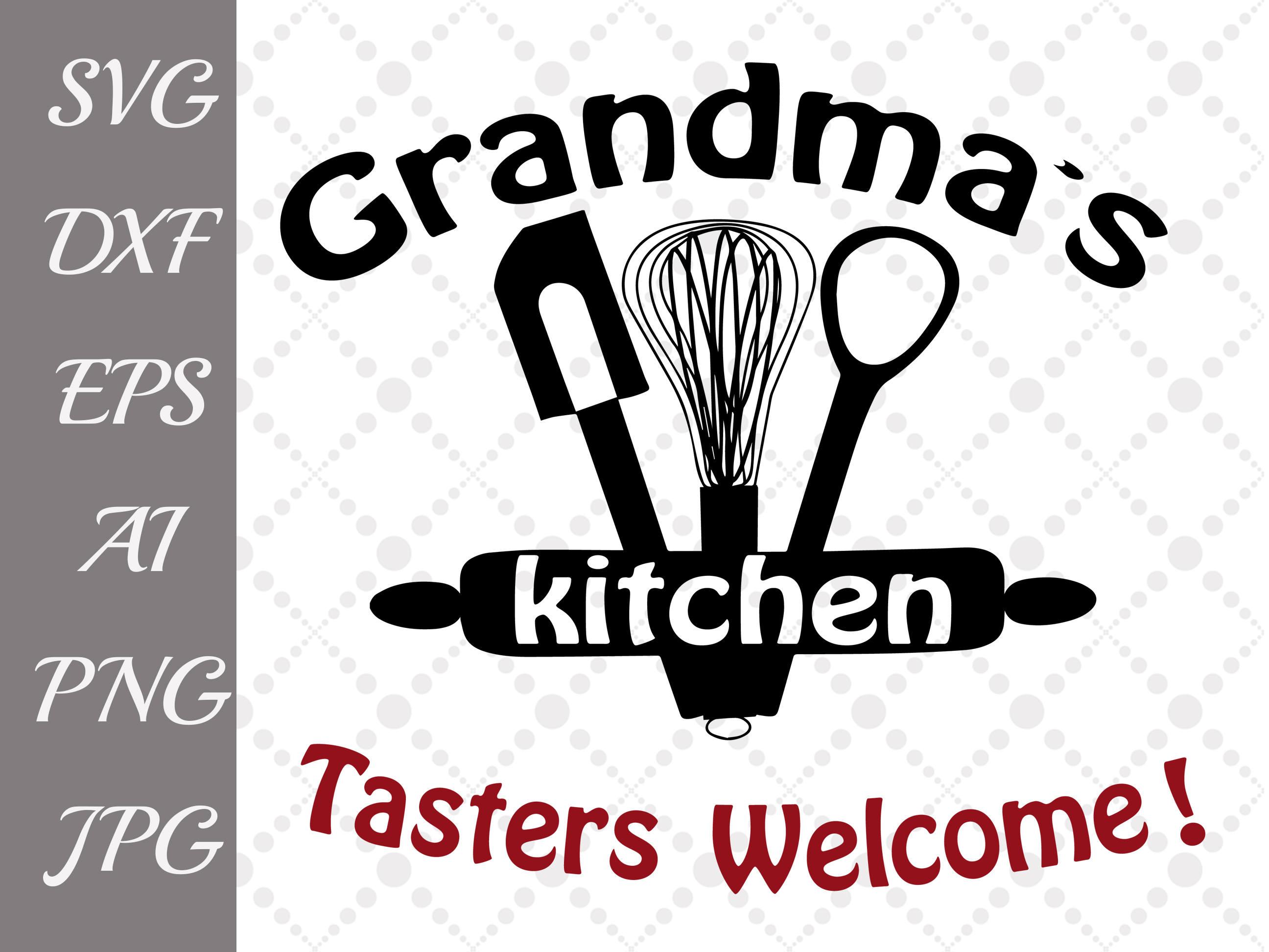 Grandma\'s Kitchen Svg: \