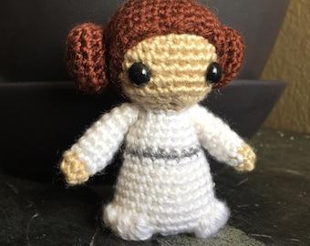 Star Wars Amigurumi Princess Leia Doll