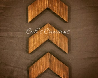 Wood Arrows-Set of 3-Wall Decor