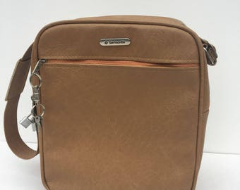 Vintage Shoulder Bag Purse Carryon Luggage by Samsonite