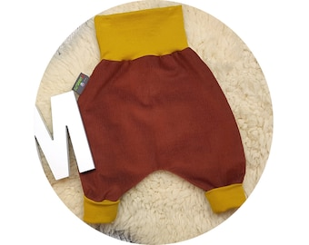 Pumphose, harem trousers, corduroys, trousers, baby pants, baby, wax trousers,