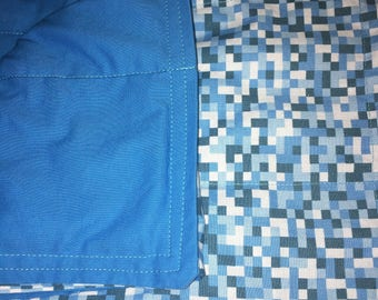 """Made to Order Weighted Blanket 40""""x70"""" 8-15lbs Glass Pellets"""