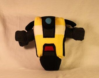 Smarty pants robot companion plushie
