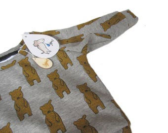 Sweater baby bear ocher , choose your size