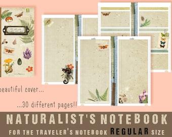 "Printable ""Naturalist's notebook"" _ TN REGULAR"
