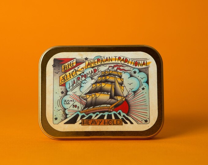 Big Slick American Traditional Hair Pomade • Heavy Hold