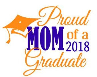 PDF - Proud mom, dad of the 2018 Graduate.  PDF ONLY