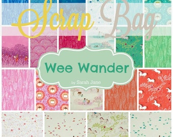 Wee Wander - Scrap Bag Quilt Fabric Strips by Sarah Jane for Michael Miller Fabrics