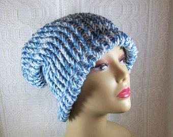 Knit Cap / Winter Cap / Knit Hat / Winter Hat / Warm Hat / Slouch Hat / Slouchy Knit Hat / Handmade Hat