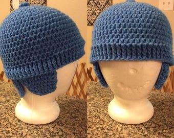 Triple Flap Hat Pattern - pocoyo inspired