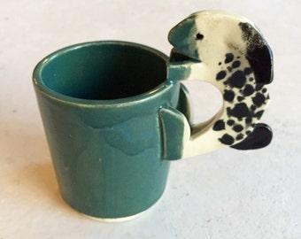 Handmade Spotted Bunny Mug