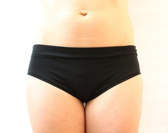 BASIC BRIEF / bamboo jersey panties / eco underwear / bamboo undies / made to order / by replicca / size S to XL / your choice of colour