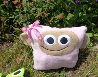 Miss Monkey Pillow