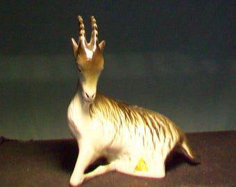 Royal Dux Antelope Figurine