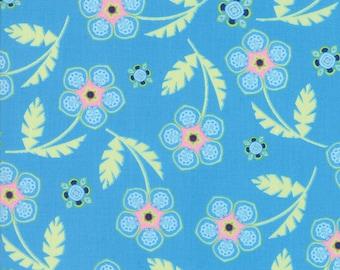 Moda MANDERLEY Quilt Fabric 1/2 Yard By Franny & Jane - Bright Sky 47501 23