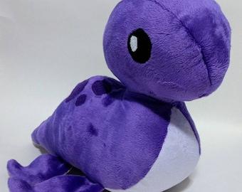 Nessie - Loch Ness Monster - Lake Monster - Cute - Kawaii - Stuffed animal - Plushie