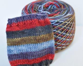 "Self-Striping Yarn - ""Casual Fridays"" (Beartooth Base)"