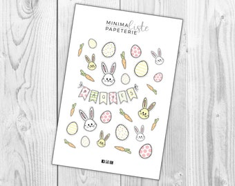 Stickers • Agenda • Easter • Easter • Planner planning Stickers cute functional planner accessories • • • • •