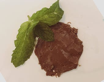 Mint Chocolate Facial Mask / Moisturizing Mask / Chocolate Face Mask / Fresh Ingredient // Cocoa Butter