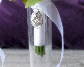 In Memory of Dad Bridal Bouquet Locket, Brides Bouquet Locket, LOCKD2