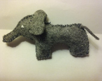 Stuffed Felt Elephant