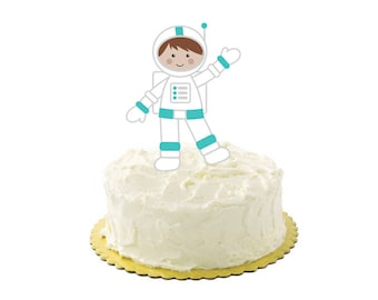 Astronaut Cake topper