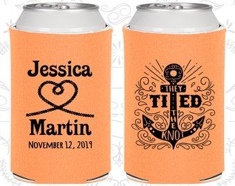 Peach Wedding, Peach Can Coolers, Peach Wedding Favors, Peach Wedding Gift, Peach Wedding Ideas (293)