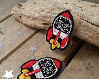 1 x space badge patch