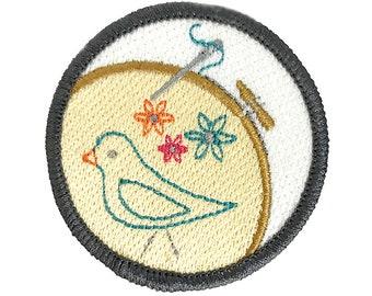 Needlepoint Love Craftbadge craft merit badge
