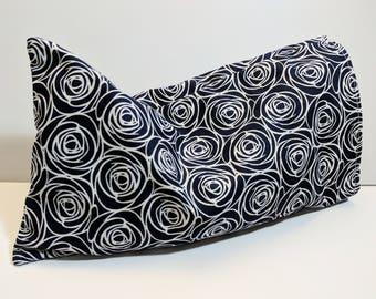 Aromatherapy Eye Pillow - Herbal Eye Pillow - Eye Pillow with Cover - Flax Seed Eye Pillow - Washable Cover - 11x6 - Large Eye Pillow